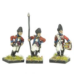 AWB11 Welsh Fusilier Command, standing
