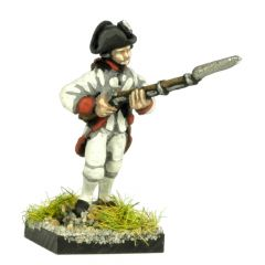 AWF5 French Fusilier, advancing