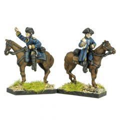 AWF7 French Mounted Generals and ADCs