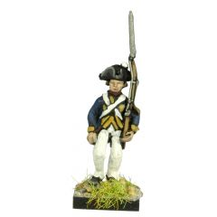 AWG2 German or Hessian Musketeer, marching