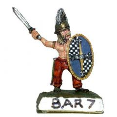 BAR7 Barbarian Warband with Swords