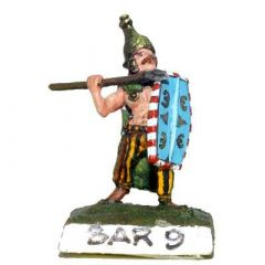 BAR9 Barbarian Warband with Spears