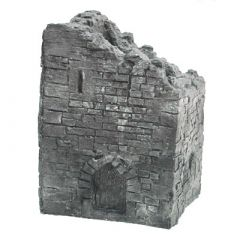 BC201 28mm Ruined Medieval Square Tower