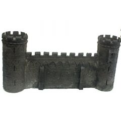 BC302 28mm Wall with Two Towers