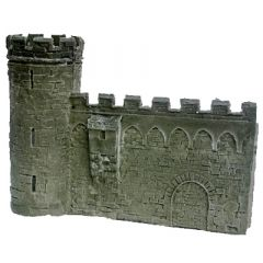 BC303 28mm Wall with Tower at Left-hand end