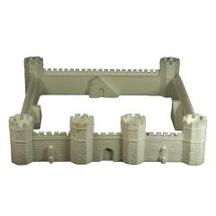 BC802 15mm Square Castle or Border Fort