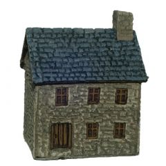 BD202 10mm Stone Cottage, two storey