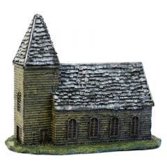 BD209 10mm Wooden Church