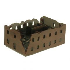 BD318 6mm Large Ruined Factory Block