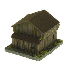 BD319 6mm Barn with Lean-to