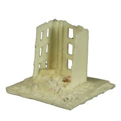BD326 6mm Tall Factory Ruin