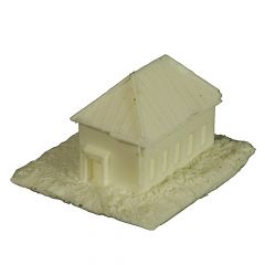 BD327 6mm House with Metal Roof