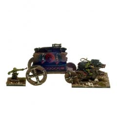 BDG202 Goblin War Wagon with Cannon and Crew