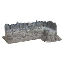 BK207 28mm Log Palisade Right-hand End