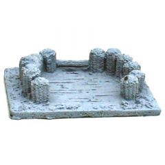 BK308 15mm Gun Emplacement with Gabions