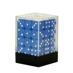 Box of 36 Blue Dice
