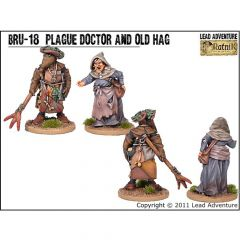 BRU18 Old Hag and Plague Doctor