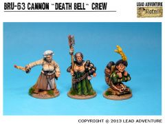BRU-63 Cannon 'Death Bell' Crew (3)
