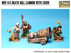 BRU-64 Cannon 'Death Bell' with Crew