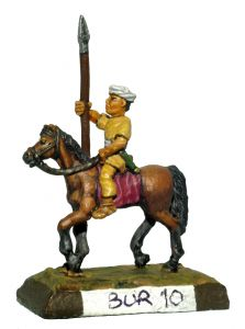 BUR10 Burmese Cavalry with Spear
