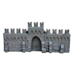 BW504 15mm Italian Wall with Gate (1400-1600)