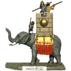 CAR4 Carthaginian Elephant with Howdah