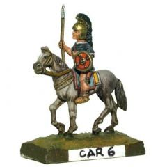 CAR6 Spanish Cavalry, Round Shield