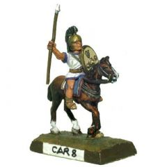 CAR8 Spanish Cavalry, Long Oval Shield