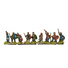 CEL5 Celtic Foot Warriors with Spears
