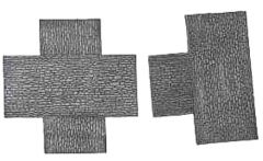 CR3-8 Cobblestone Road Junction Pack, 3 inch, (2 pieces)