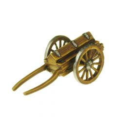 CW1 Ammunition Cart, two-wheeled with horse and carter