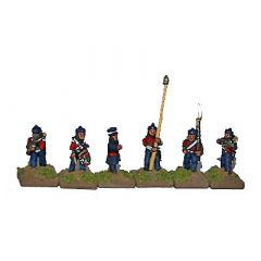 CWB6 British Line Infantry with Hat