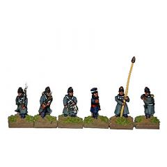 CWB9 British Line Infantry with Shako and Greatcoat