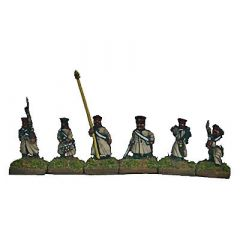 CWR13 Russian Infantry with Cap and Full Coat