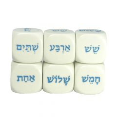 Hebrew D6 Dice