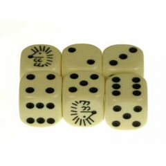 Hedgehog D6 Dice
