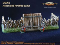 DBA6 Hellenistic DBA Fortified Camp