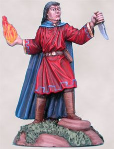DSM1145 Elmore Masterwork Ancient White Young Male Mage with Dagger