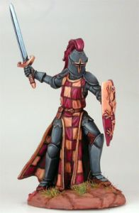 DSM1156 Elmore Masterwork, Male Knight with Sword and Shield #1