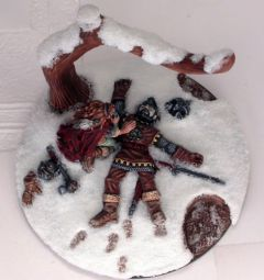 DSM1221 Limited Edition: Avalyne the Life Giver - Scenic Base with Tree