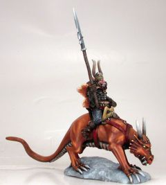 DSM1222 Limited Edition: Chaos Warrior on Lizard Mount