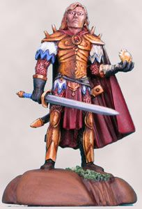 DSM3105 Caldwell Masterworks Male Elven Fighter Mage with Sword