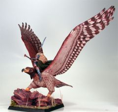 DSM7011 Visions in Fantasy War Eagle with Female Elven Rider