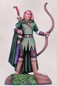 DSM7105 Visions in Fantasy Male Elf Ranger with Bow