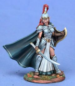 DSM7414 Visions in Fantasy High Elf Warrior with Sword and Shield