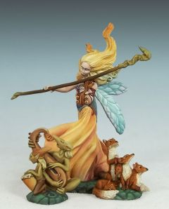 DSM7602 Visions in Fantasy Page of Wands Female Fairy