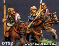 DTS2 Early Frankish or Alamanni Mounted Nobles