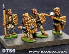 DTS6 Early Frankish or Alamanni Foot Warriors
