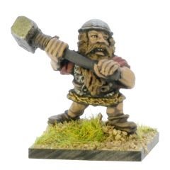 DWA14 Dwarf with two-handed Hammer