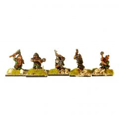 DWF2 Dwarves with Hand Weapons